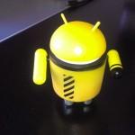HTC One V - Interior con Flash normal