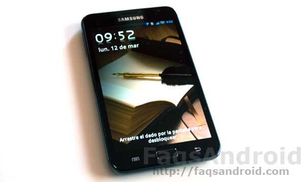 El Samsung Galaxy Note comienza a recibir la actualización a ICS 4.0
