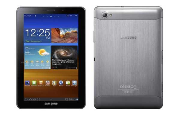 Imágenes del Samsung Galaxy Tab 7.7