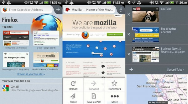 Firefox para Android se actualiza