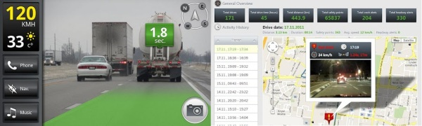 iOnRoad, una aplicación que aumentará tu seguridad al volante