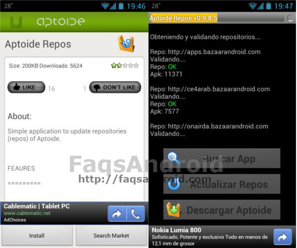 Aptoide, una alternativa al Play Store de Android