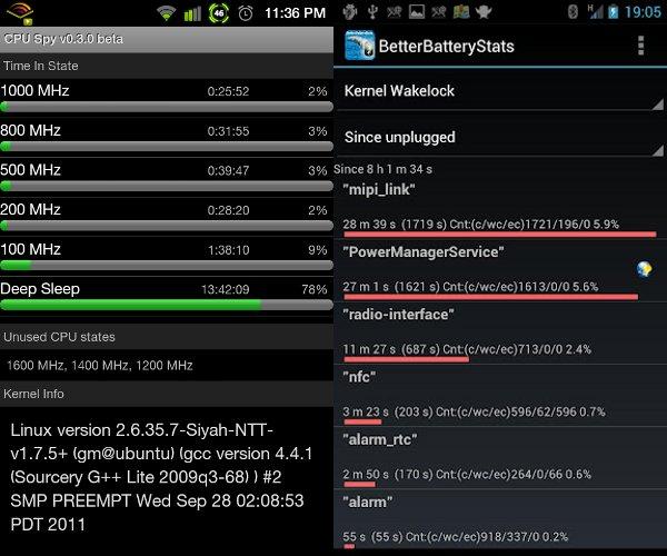 Optimizar la batería de los terminales Android