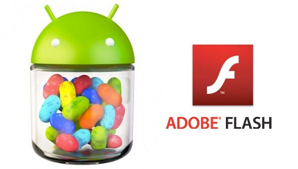 Flash Player en Jelly Bean - Banner