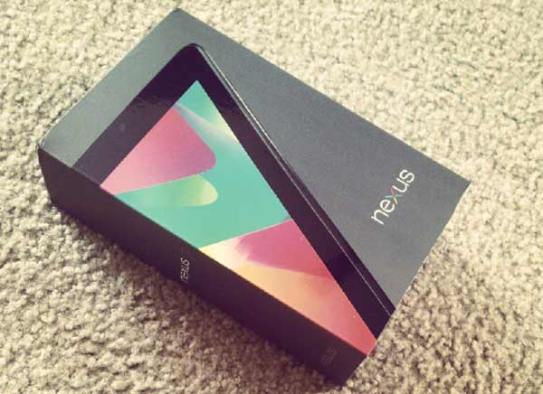 nexus 7 Android 4.1.2 Jelly Bean