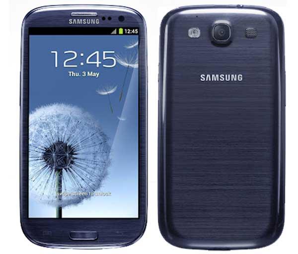 Imagen oficial del Galaxy S3