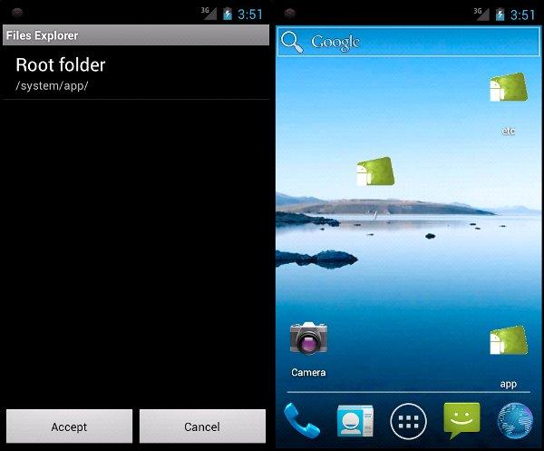 Capturas de pantalla de nuestra aplicación