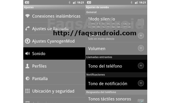 Cómo cambiar el tono de llamada, SMS, notificación o WhatsApp