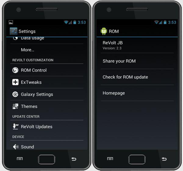 ReVolt JB 2.3 para Samsung Galaxy S2