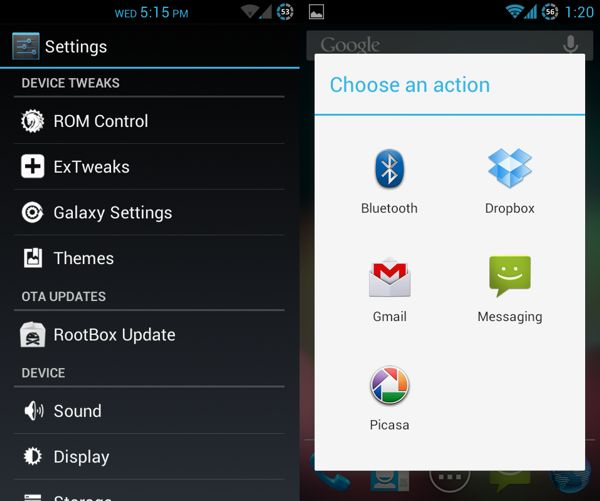 Vanilla RootBOX 2.7 build 3 para Samsung Galaxy S2