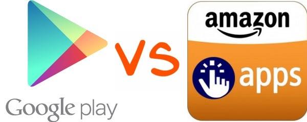 La tienda de apps de Amazon vs la Play Store de Google