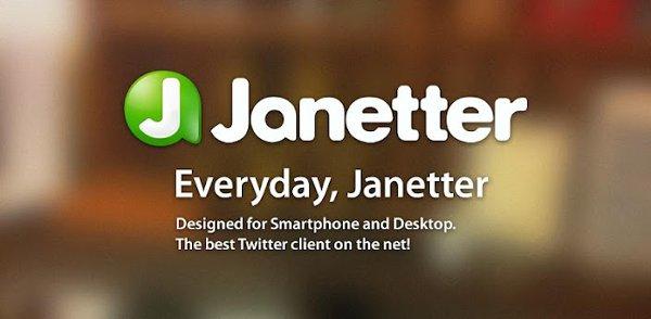 Janetter para Android ya en Google Play
