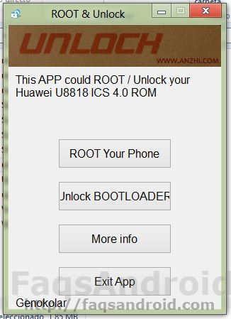 Pasos para conseguir acceso ROOT en el Huawei Ascend G300 con ICS