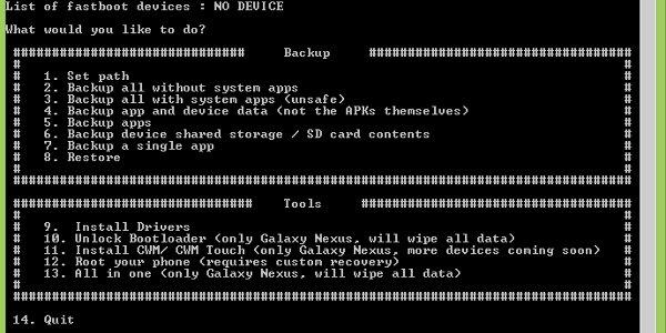 Como hacer y restaurar backups en Android