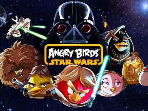 Angry Birds Star Wars Logo Personajes