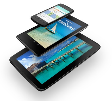 Reviews del Nexus 4 y Nexus 10 (inglés)