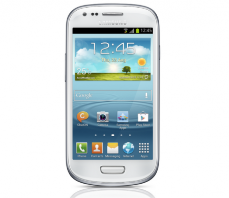 Samsung Galaxy S3 mini frontal