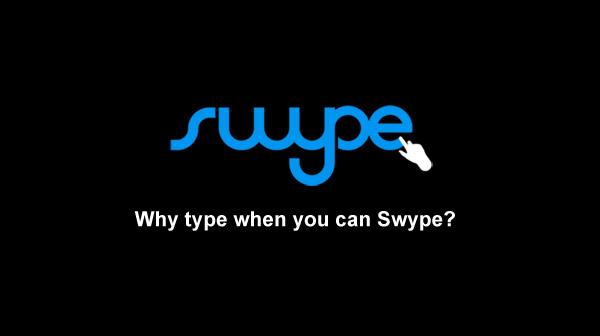 Actualización de Swype Beta con mejoras para tablets