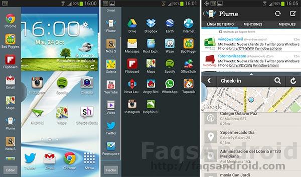 Las mejores aplicaciones para la multitarea del Samsung Galaxy Note 2