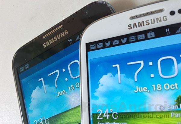Samsung podría lanzar directamente Android 4.3 Jely Bean para los Galaxy Note 2 y Galaxy S3