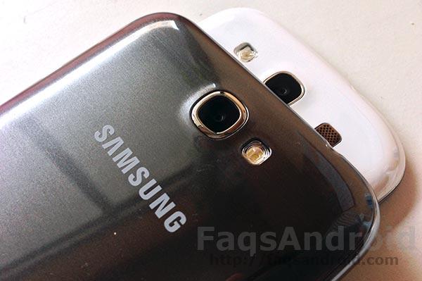 Imagen de la comparativa entre Galaxy Note 2 y Galaxy S3