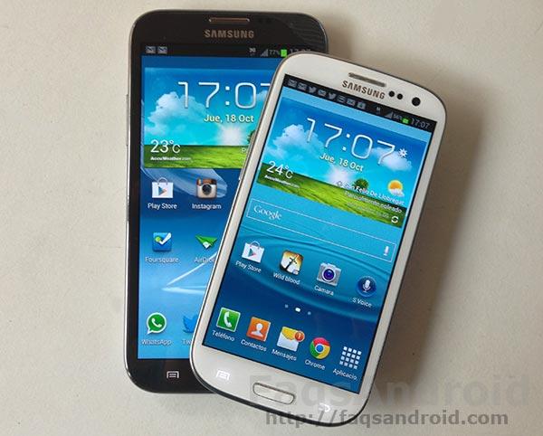 ROM Leaked Android 4.1.2, multiventana en el Samsung Galaxy S3