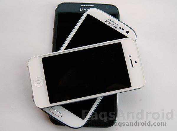 Samsung Galaxy Note 2 vs Samsung Galaxy S3