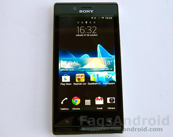 Análisis y review del Sony Xperia J con vídeo HD