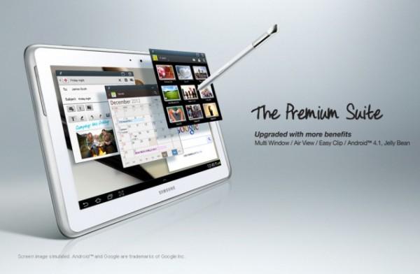 Actualización Premium Suite para Samsung Galaxy Note 10.1