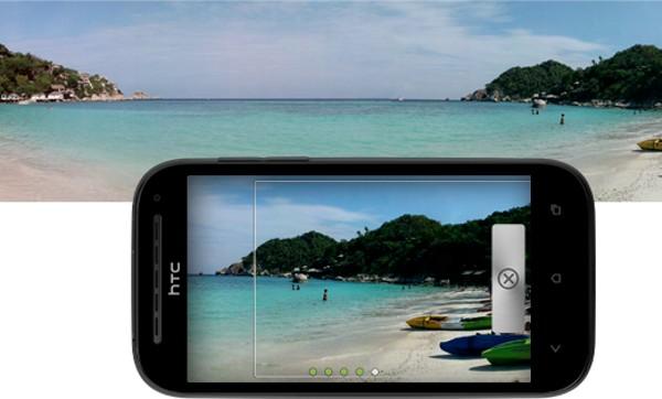 HTC One SV Camara