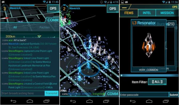 Ingress capturas