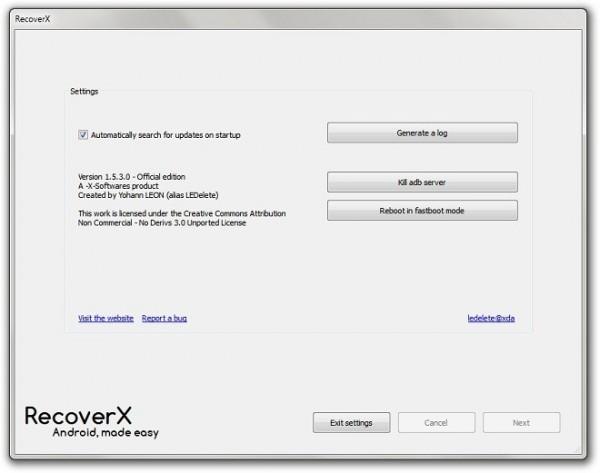 Instala fácilmente un recovery en tu Android en 3 minutos con RecoverX