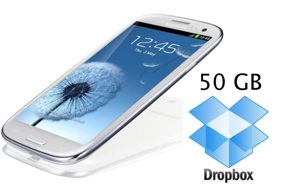 Samsung 50Gb Dropbox