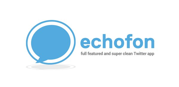 Echofon ya disponible en Google Play