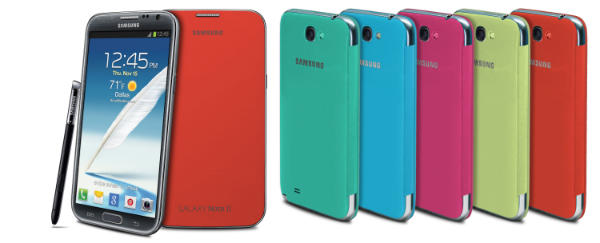 A la venta las fundas Flip Cover para el Galaxy S3 y el Galaxy Note 2