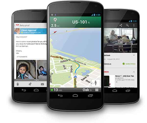 entrega de 2 meses para el LG Nexus 4