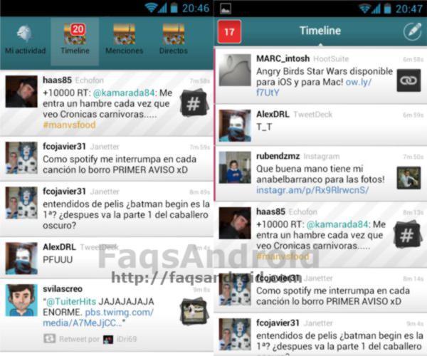 TweetTopics 2 Android