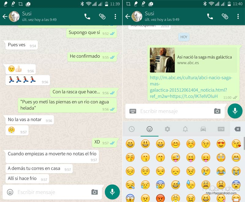 Todo sobre WhatsApp Android