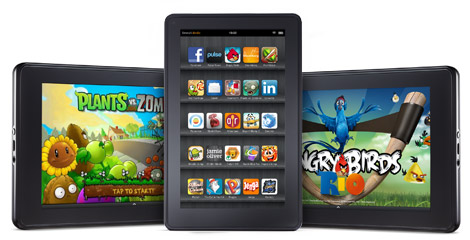 Amazon introduce el push en sus Kindle Fire