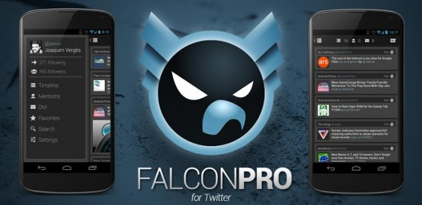 Falcon Pro para Twitter Banner