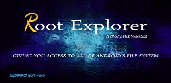 Root Explorer Banner