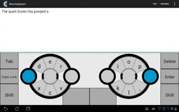 Slice Keyboard, un innovador teclado para tablets