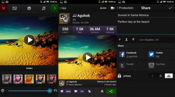 Vídeos con filtros a lo Instagram, ya disponible Viddy para Android