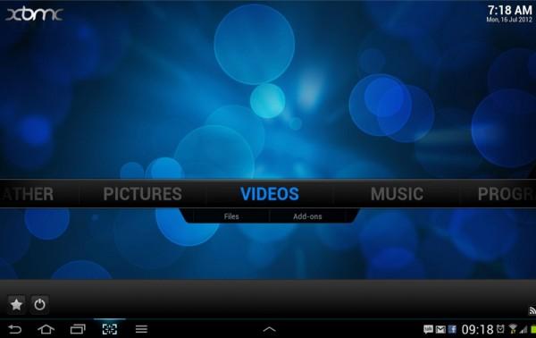XBMC, el famoso reproductor multimedia, llega a Android en beta 2