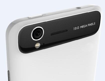 ZTE Grand S cámara y trasera