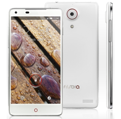 ZTE Nubia Z5 frontal y lateral