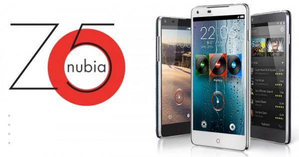 ZTE Nubia Z5 trio