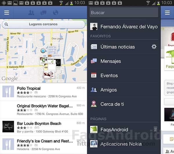 Facebook mejora las imágenes y la geolocalización