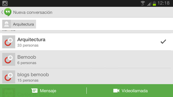 Actualización de Now, Keep y HangOuts en el Google Play Store