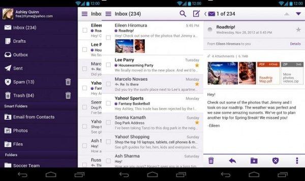 Yahoo! Mail recibe una gran actualización